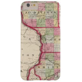 Jo Daviess, Carroll, condados de Whiteside Funda Para iPhone 6 Plus Barely There