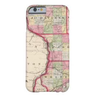 Jo Daviess, Carroll, condados de Whiteside Funda Barely There iPhone 6