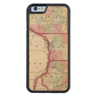 Jo Daviess, Carroll, condados de Whiteside Funda De iPhone 6 Bumper Arce
