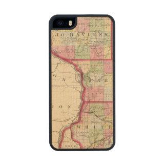 Jo Daviess, Carroll, condados de Whiteside Funda De Madera Para iPhone 5