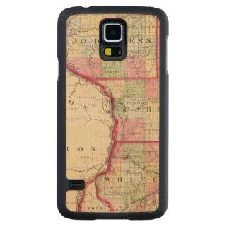 Jo Daviess, Carroll, condados de Whiteside Funda De Galaxy S5 Slim Arce
