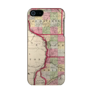 Jo Daviess, Carroll, condados de Whiteside Funda Para iPhone 5 Incipio Feather Shine