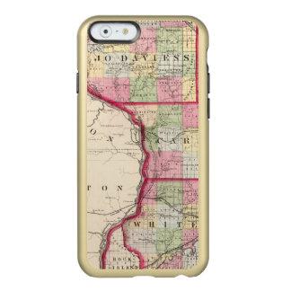 Jo Daviess, Carroll, condados de Whiteside Funda Para iPhone 6 Plus Incipio Feather Shine