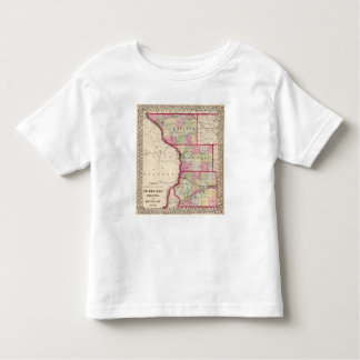 Jo Daviess, Carroll, condados de Whiteside Camiseta