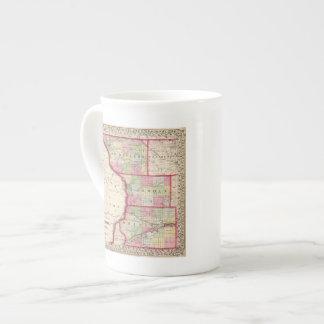 Jo Daviess, Carroll, condados de Whiteside Taza De Porcelana