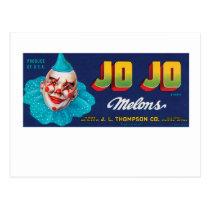 JO JO Melons Postcard