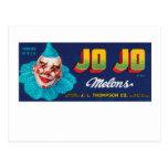 JO JO Melons Postcards