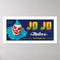 JO JO Melons Poster