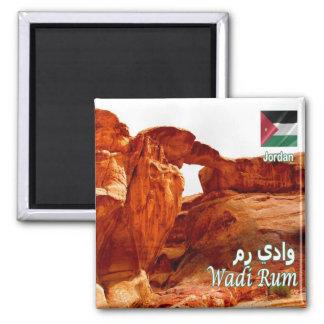 JO - Jordan - Wadi Rum - Desert Burda Rock Bridge Magnet