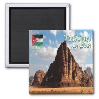 JO - Jordan - Wadi Rum - Seven Pillars Magnet