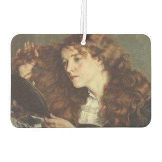 Jo, the Beautiful Irishwoman by Gustave Courbet Air Freshener