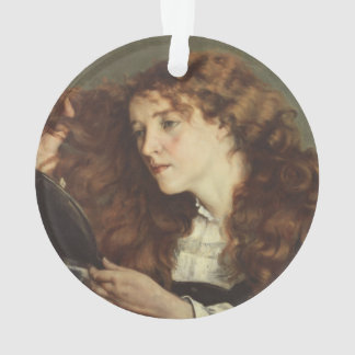 Jo, the Beautiful Irishwoman by Gustave Courbet Ornament