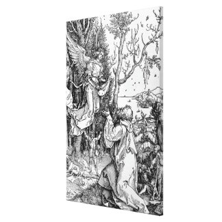 Joachim and the Angel Canvas Print