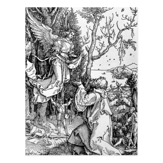 Joachim and the Angel Postcard