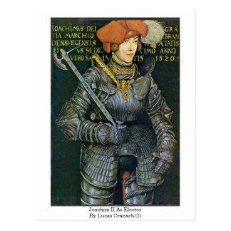 Joachim Ii As Elector By Lucas Cranach (I) Postcard