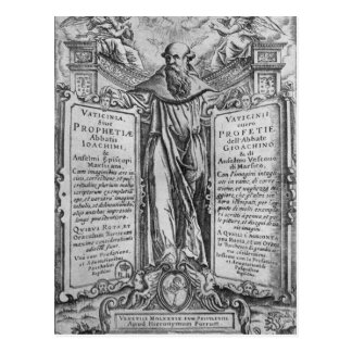Joachim of Flora Postcard