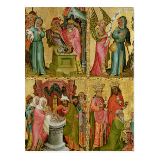Joachim's Sacrifice and Circumcision of Christ Postcard