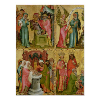 Joachim's Sacrifice and Circumcision of Christ Poster