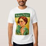 Joan Crawford 1928 movie magazine Tee Shirt