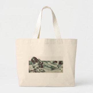 Joan Crawford 1933 French magazine Jumbo Tote Bag