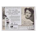 Joan Crawford Face Powder Ad Cards