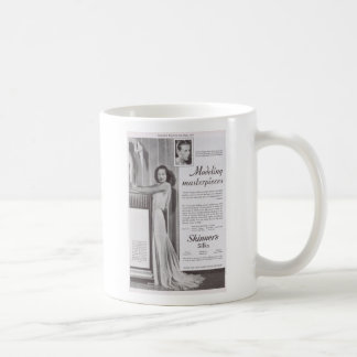 Joan Crawford in Adrien for Silk advertisement Coffee Mug