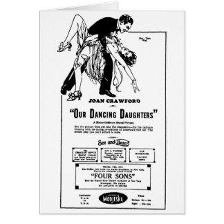 Joan Crawford OUR DANCING DAUGHTERS 1928 Card