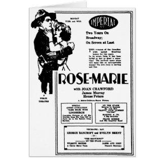 Joan Crawford Rose-Marie 1928 Card
