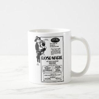 Joan Crawford Rose-Marie 1928 Coffee Mug