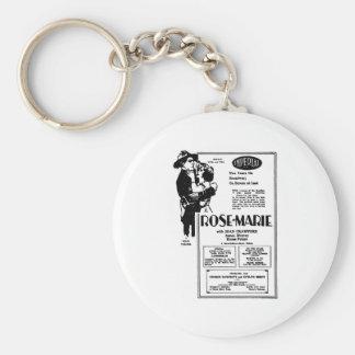 Joan Crawford Rose-Marie 1928 Keychain