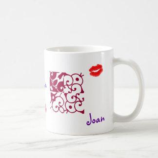 Joan II Designer Name Mug