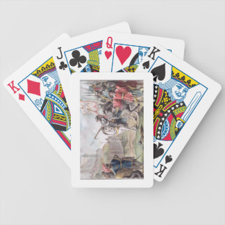 Joan of Arc (1412-31) Orders the English to Leave Bicycle Playing Cards