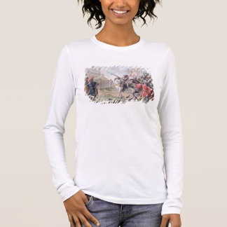 Joan of Arc (1412-31) Orders the English to Leave Long Sleeve T-Shirt