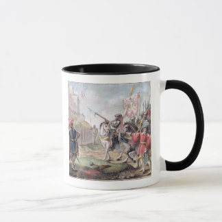 Joan of Arc (1412-31) Orders the English to Leave Mug