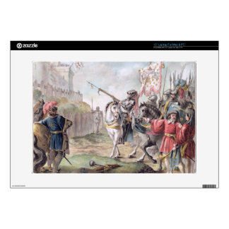 Joan of Arc (1412-31) Orders the English to Leave Skin For Laptop