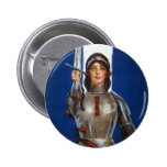 Joan of Arc 2 Inch Round Button