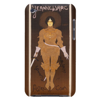 Joan of Arc Art Nouveau Barely There iPod Cases
