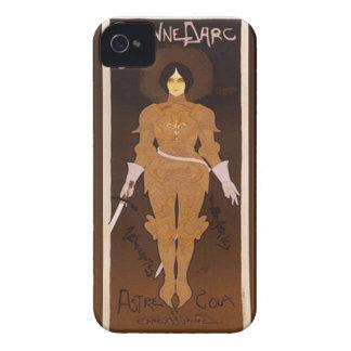 Joan of Arc Art Nouveau iPhone 4 Case-Mate Case