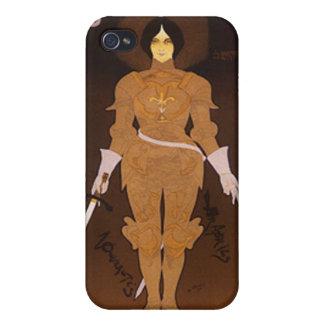 Joan of Arc Art Nouveau iPhone 4 Cover