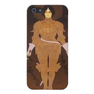 Joan of Arc Art Nouveau iPhone SE/5/5s Cover