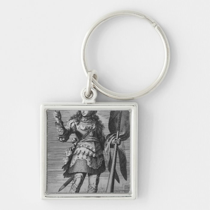 Joan of Arc  Before Orleans Keychain