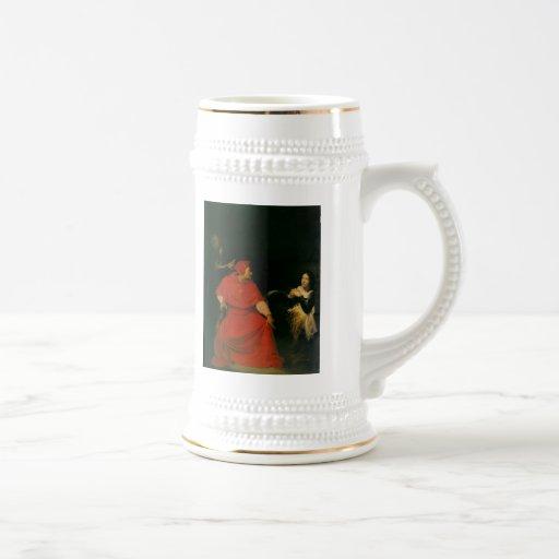 'Joan of Arc Being Interrogated' Mug