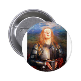 Joan of Arc Buttons
