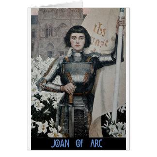 Joan of Arc by Albert Lynch Card