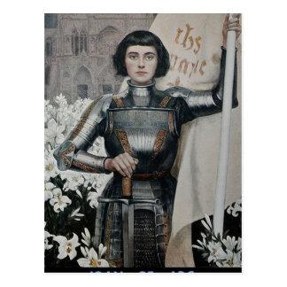 Joan of Arc by Albert Lynch Postcard