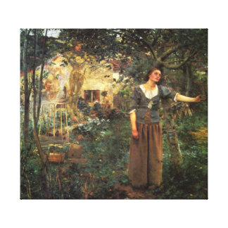 Joan of Arc by Jules Bastien Lapage Canvas Print
