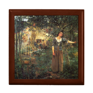 Joan of Arc by Jules Bastien Lapage Jewelry Box