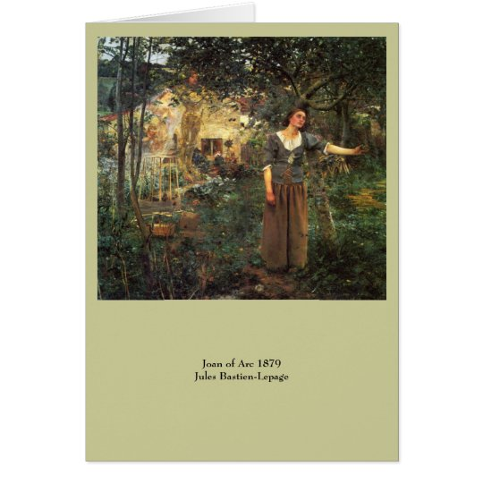 Joan of Arc by Jules Bastien Lepage Card