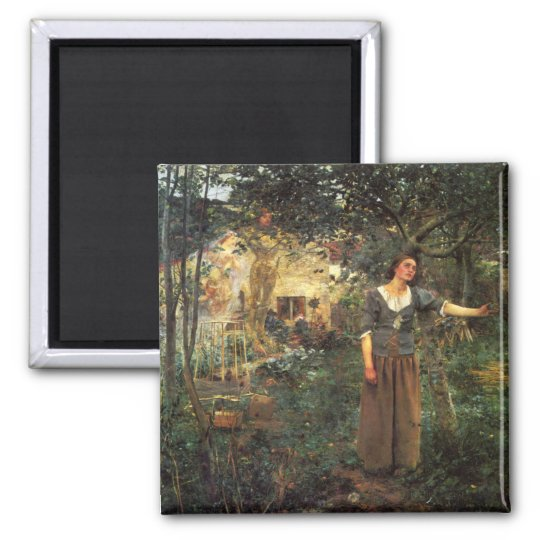 Joan of Arc by Jules Bastien Lepage Magnet