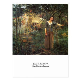 Joan of Arc by Jules Bastien Lepage Postcard